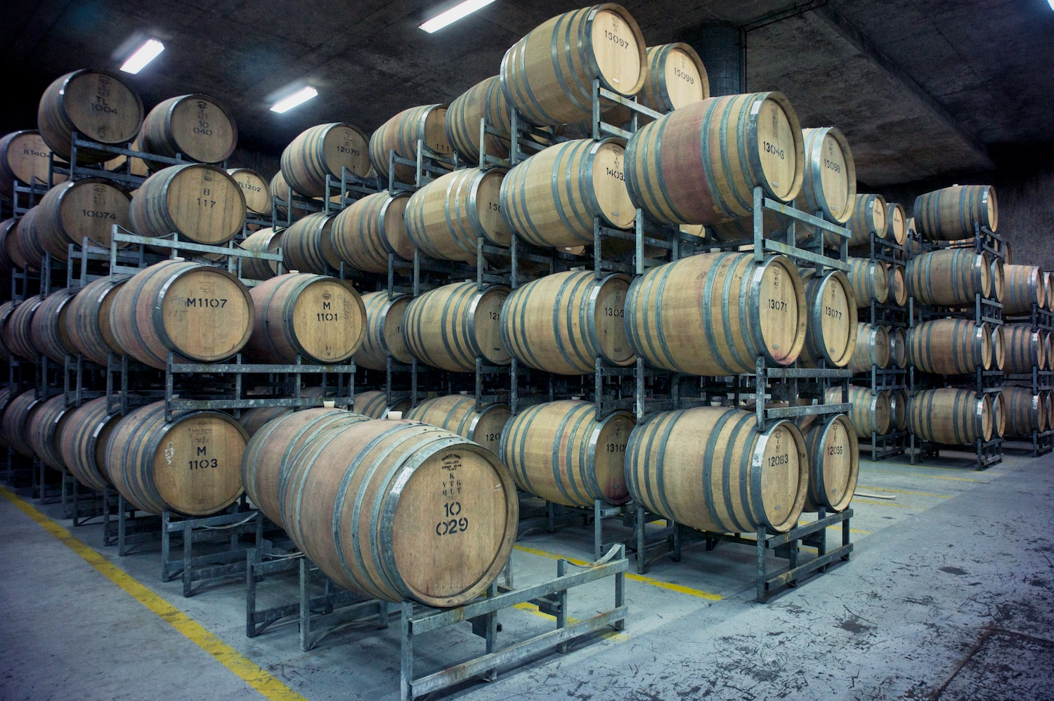 Tasting from the Barrels