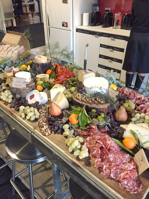 Grazing Table, The Stinking BIshops, Sydney Australia