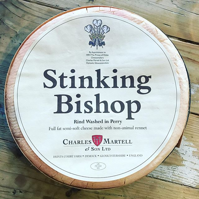 Stinking Bishop Cheese is Back.  We have been out of everyone's favorite cheese, come is and taste the smelly delight!  #cheese #stinkycheese #sydneyeats #sydneyfood #yayforcherse