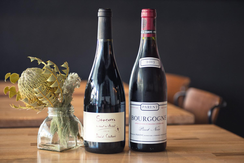 Parent 2013 Bourgogne Rouge & 2014 Sancerre Rouge