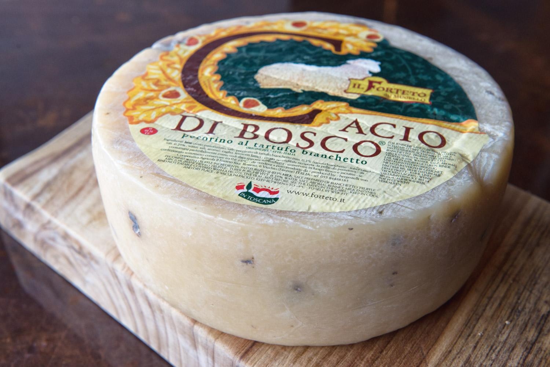 Cacio Truffle Pecorino from Tuscany Italy