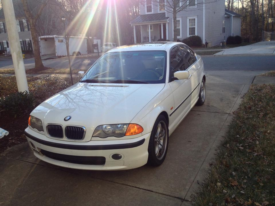 The 'donor' 2001 BMW 330i
