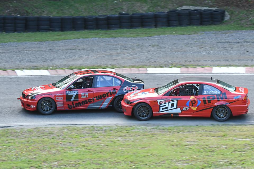 The highlight of the weekend came from a battle against Mark Sundberg in the 'no points' race.