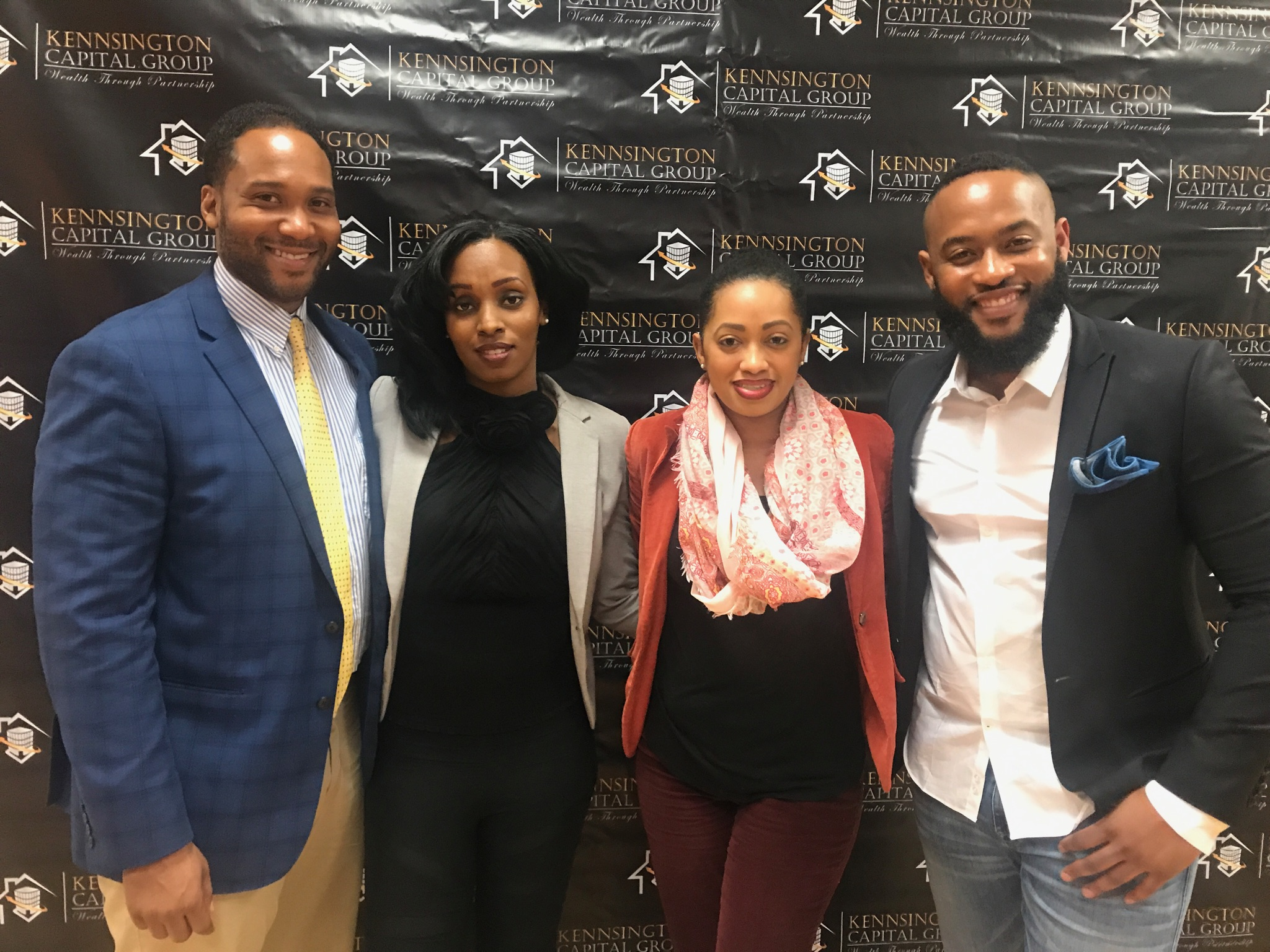 """""""Behind the scene Day of Concierge Consultant""""   Client, Benedict Guerrier at Guest Panel Speaker at Kennsington Capital Group, Eyan Edwards"""
