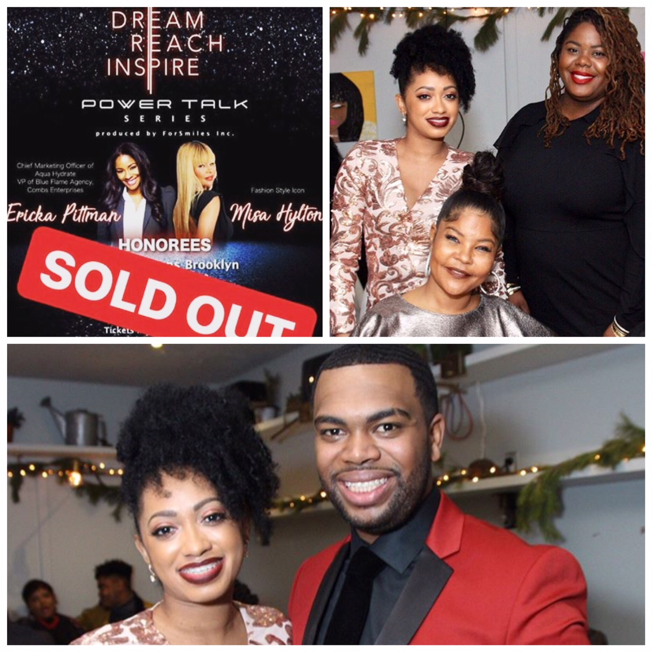 Dream.Reach.Inspire (Non-Profit Organization) inspiring children to be leaders by honoring celebrities who made a difference within the community. Assisted in sponsoring event and bringing in local entrepreneurs to get the exposure for children to see they can do it also.  Honorees: Erika Pittman (Chief Marketing Officer of AQUAhydrate) & Misa Hylton (Mother, Entrepreneur, Lifestyle Architect, Fashion Designer, Image Advisor, Teacher & Founder of the Misa Hylton Fashion Academy, Certified Life Coach)