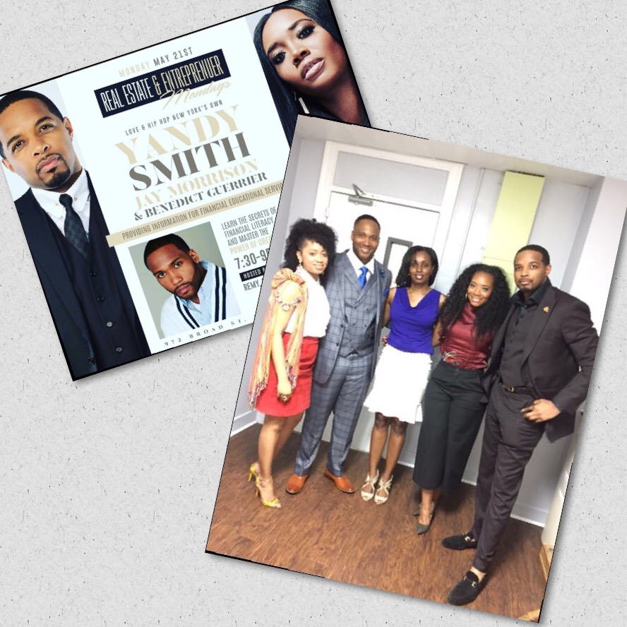 "Yandy Smith-Harris (Love & Hip Hip NY and owner of Yelle Skin Care) & Jay Morrison (Visionary Leader Founder, Fund Manager & CEO of the 1st 100% Black Owned & Operated SEC Regulated Reg. A tier 2 Real Estate Crowd Fund in US History ""Tulsa Real Estate Fund"""