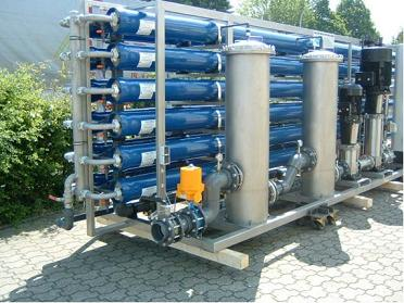 Osmosi inversa - Desalinizzazione - Depurazione