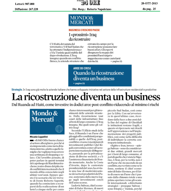 Il sole 24 ore Middle east