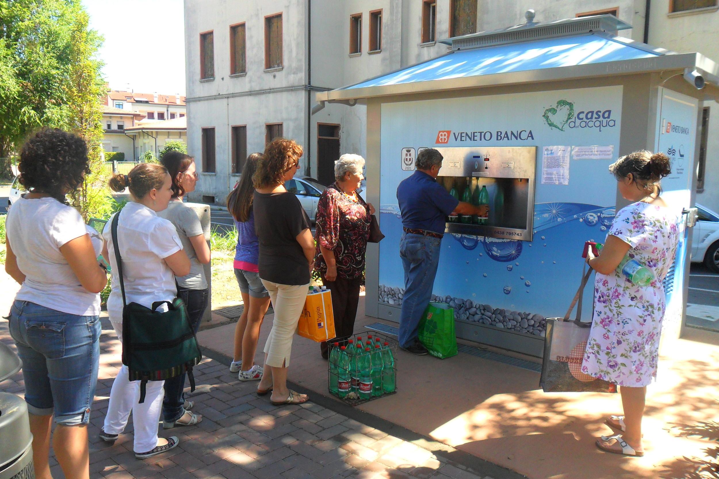 Water vending machines - City/Village  Enter