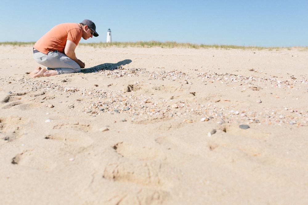194/365 Scanning for shells on theCoskata-Coatue Wildlife Refuge