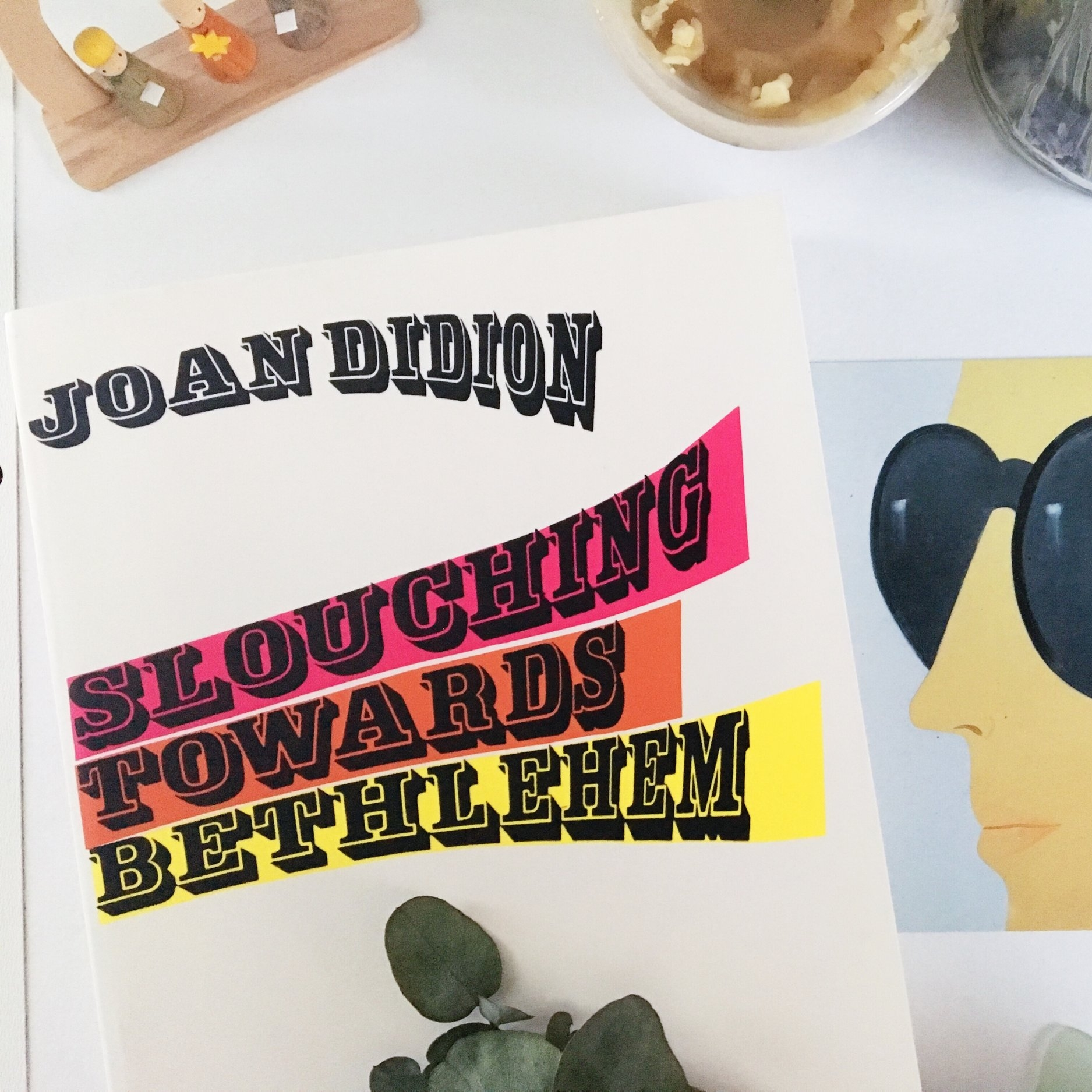 """Slouching Towards Bethlehem, Joan Didion - Essays divided into 3 sections each with their own unique identity; Lifestyles in the Golden Land, Personals, Seven Places of the Mind. I have a certain fondness for the second section, Personals, which deals with subjects such as self respect, keeping a notebook, and the puzzling inability to truly """"go home"""".""""So the point of my keeping a notebook has never been, nor is it now, to have an accurate factual record of what I have been doing of thinking. That would be a different impulse entirely, an instinct for reality which I sometimes envy but do not possess."""""""