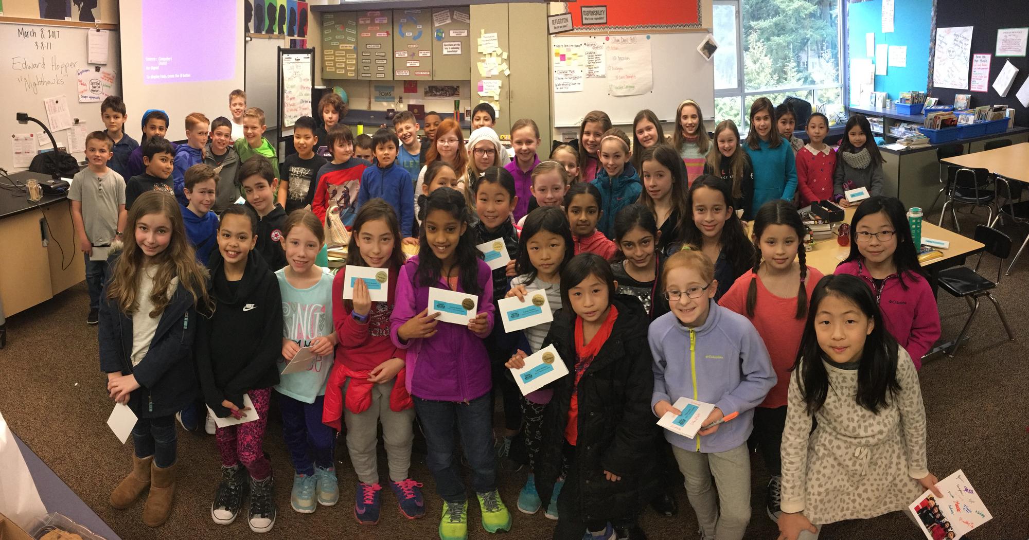 4th grade participants