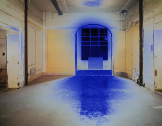 Catherine Yass JCC: Showroom 1 2010 Duratrans transparency, lightbox Represented by: Alison Jacques Gallery