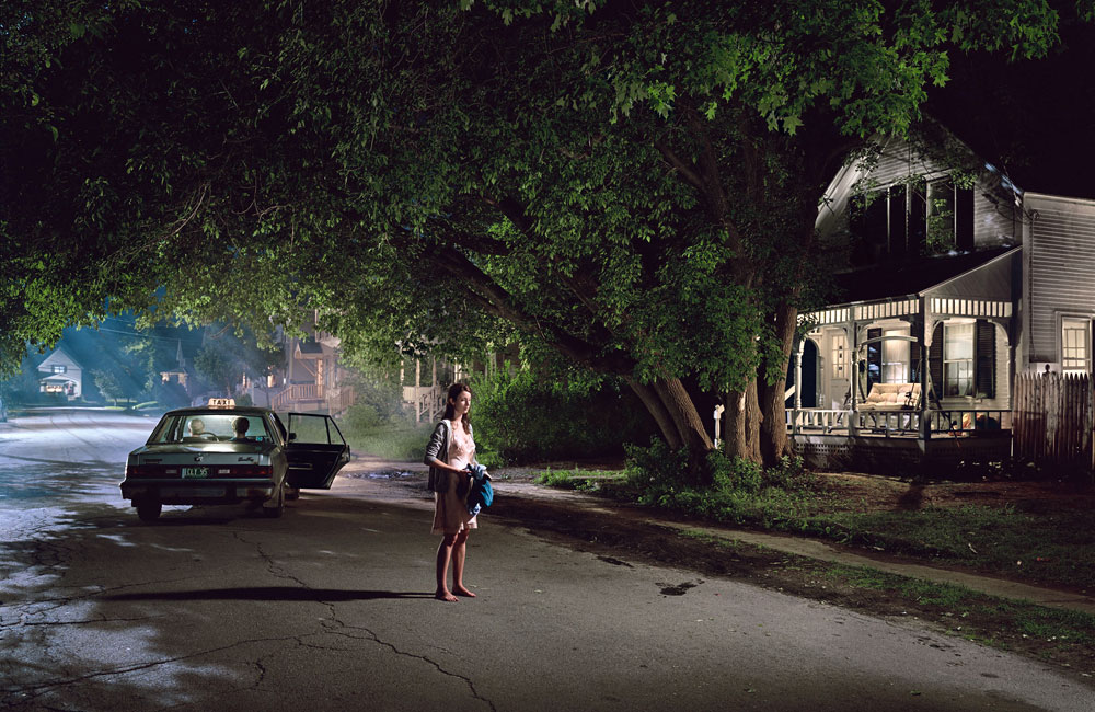 1. Gregory Crewdson  2. Untitled, 'Beneath the Roses'  3. 2003  4. Digital chromogenic print  5. Represented by White Cube gallery