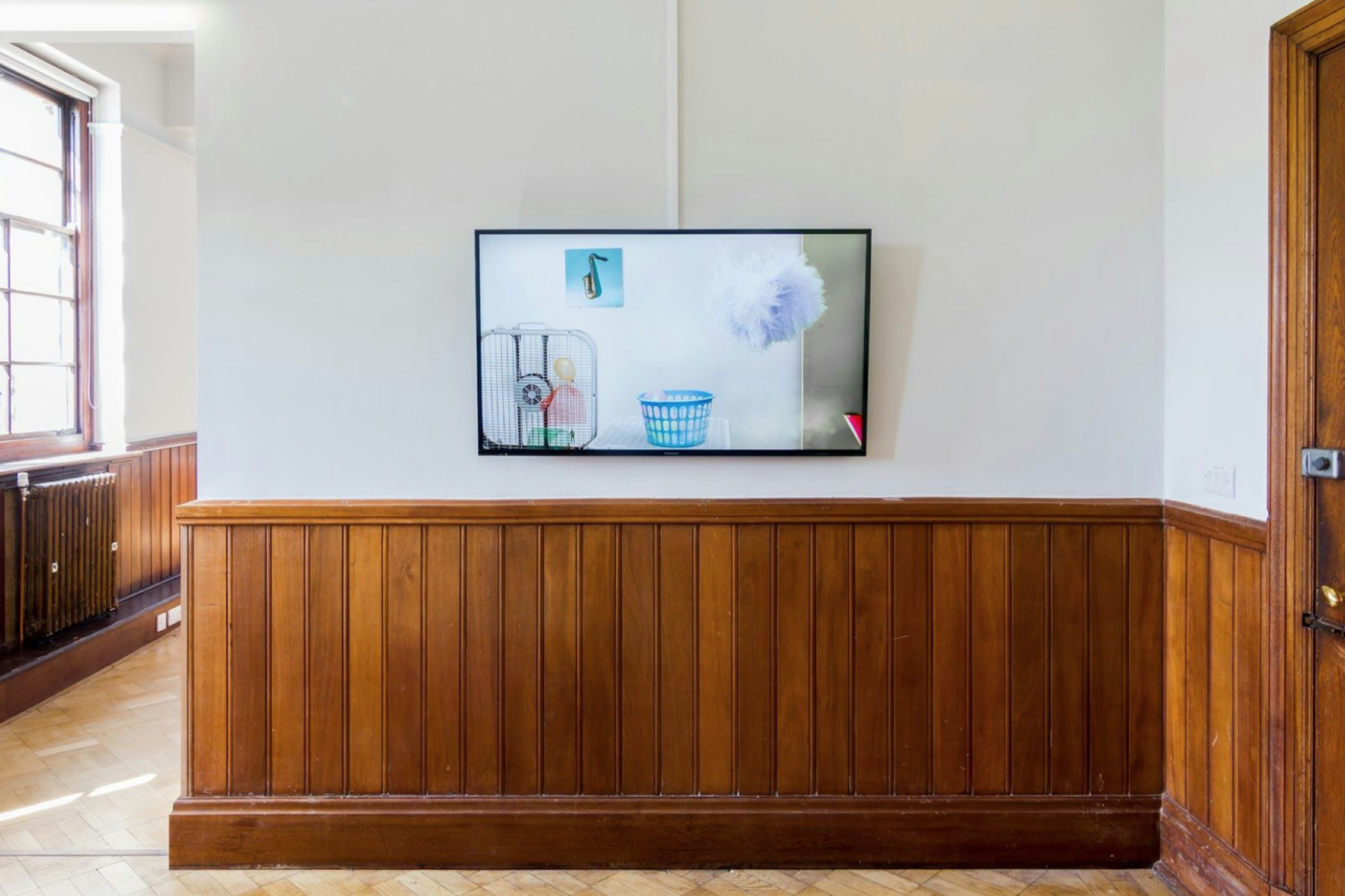 Painting In Time  2015 The Tetley, Leeds (UK)  Co-curated by Sarah Kate Wilson  Artists in exhibition:Polly Apfelbaum, Claire Ashley,Kristina Buch,Kate Hawkins, Robert Chase Heishman and Megan Schvaneveldt,Natasha Kidd,Rob Leech,Lisa Milroy, Yoko Ono, Hayley Tompkins, Jessica Warboys, and Sarah Kate Wilson