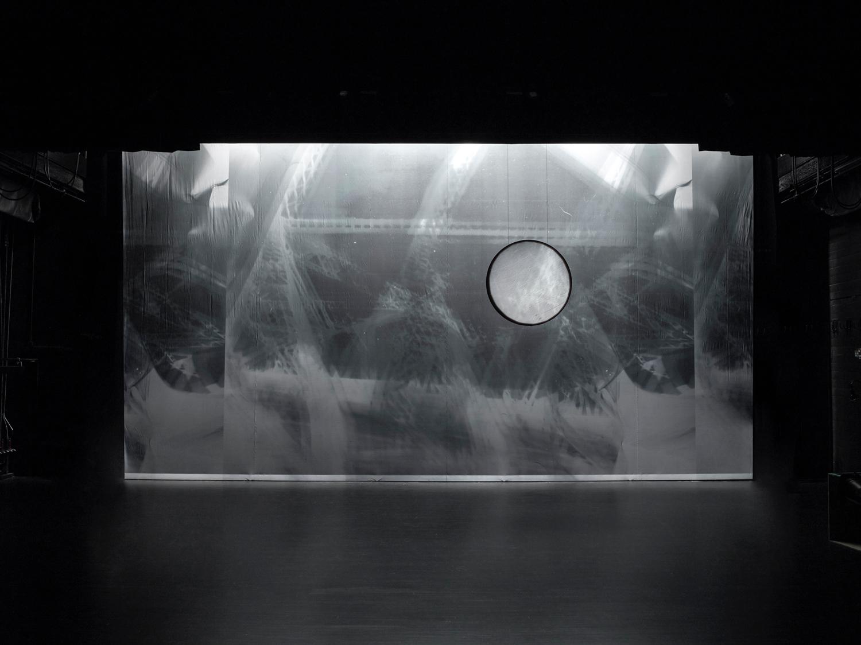 etc , 2003 (décor for Merce Cunningham Dance Company, Split-Sides ) Collection Walker Art Center, Minneapolis.
