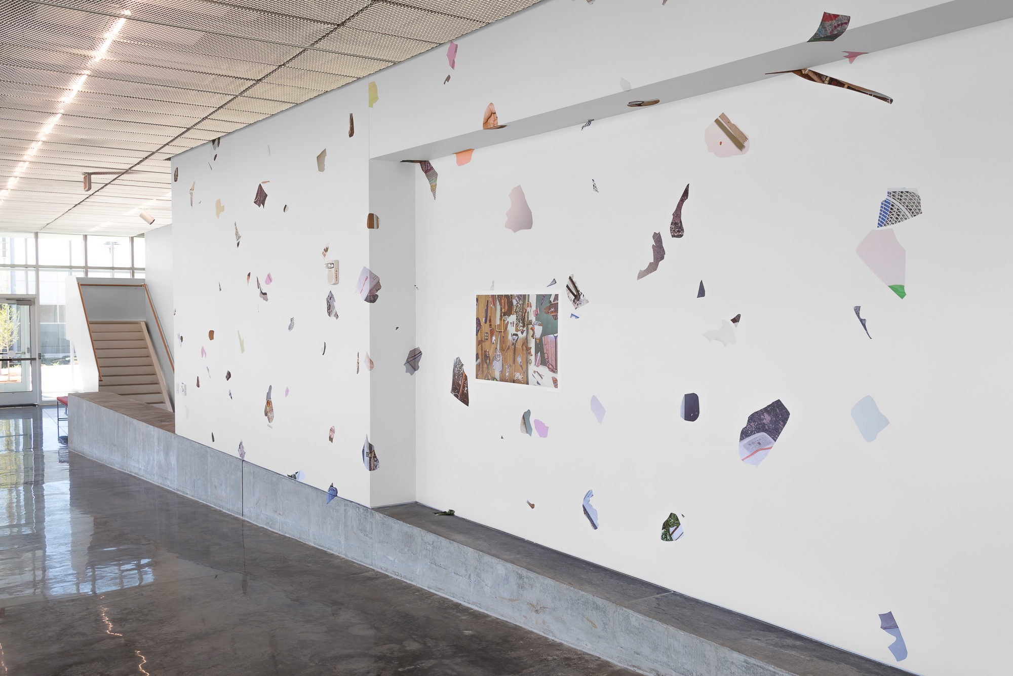 CONTENT , Johnson County Community College Fine Arts Building (Overland Park, KS), 2019, installation view