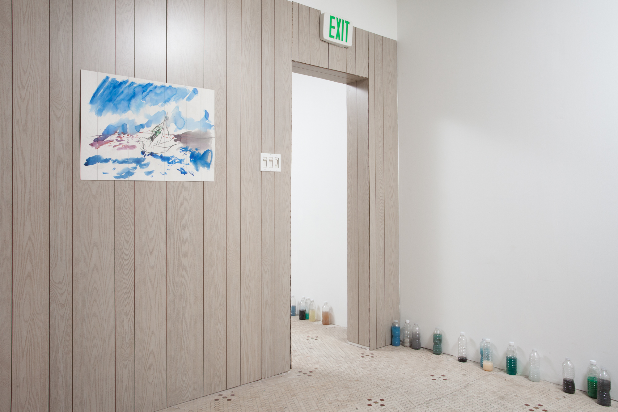 Indefinite Free Time: Robert Chase Heishman , BEEFHAUS (Dallas, TX), solo exhibition, 2016, installation view
