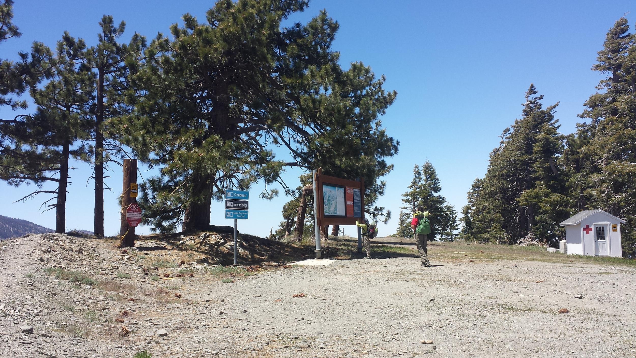 Abandoned ski resort.