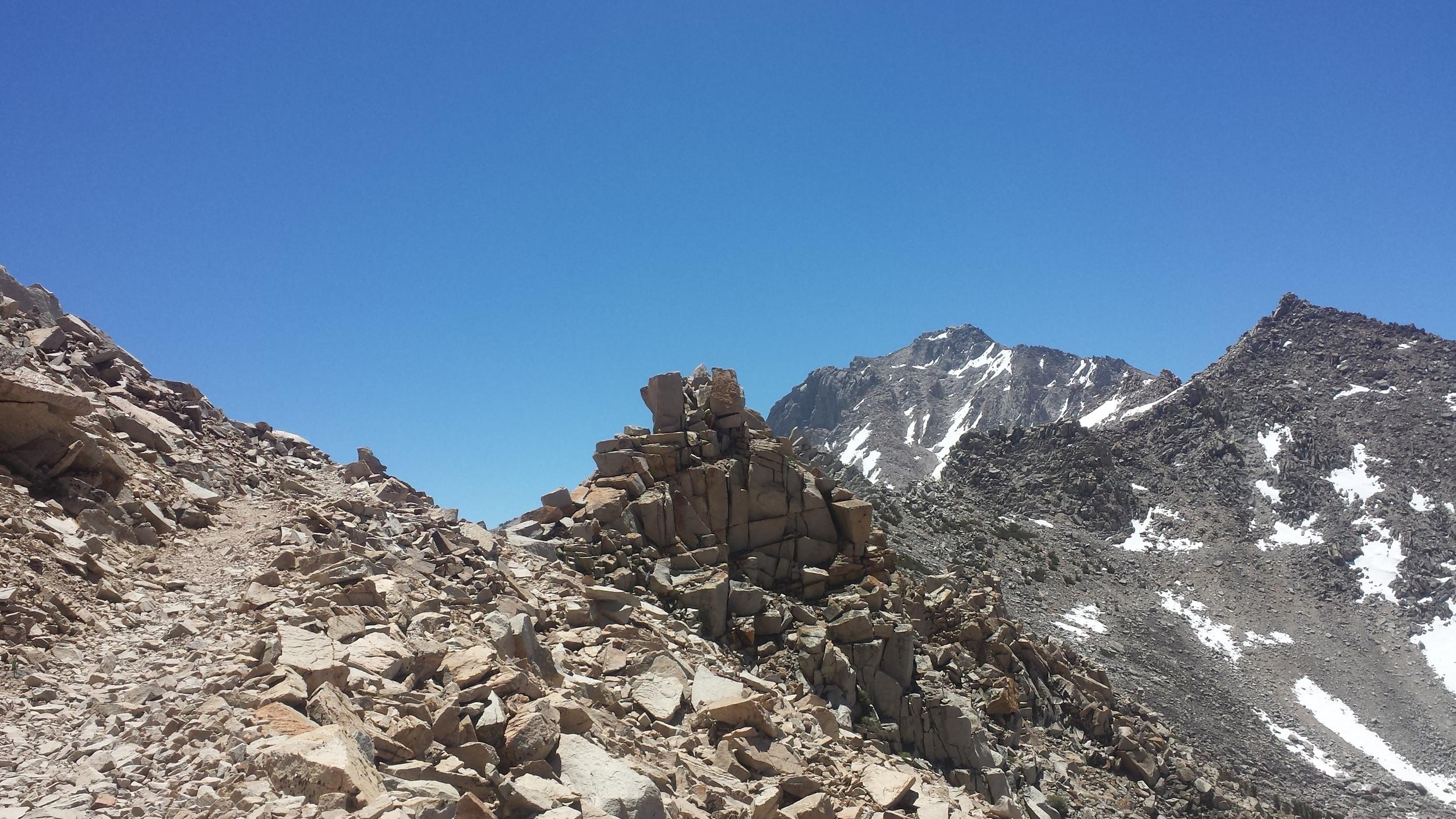 cubist mountaintop