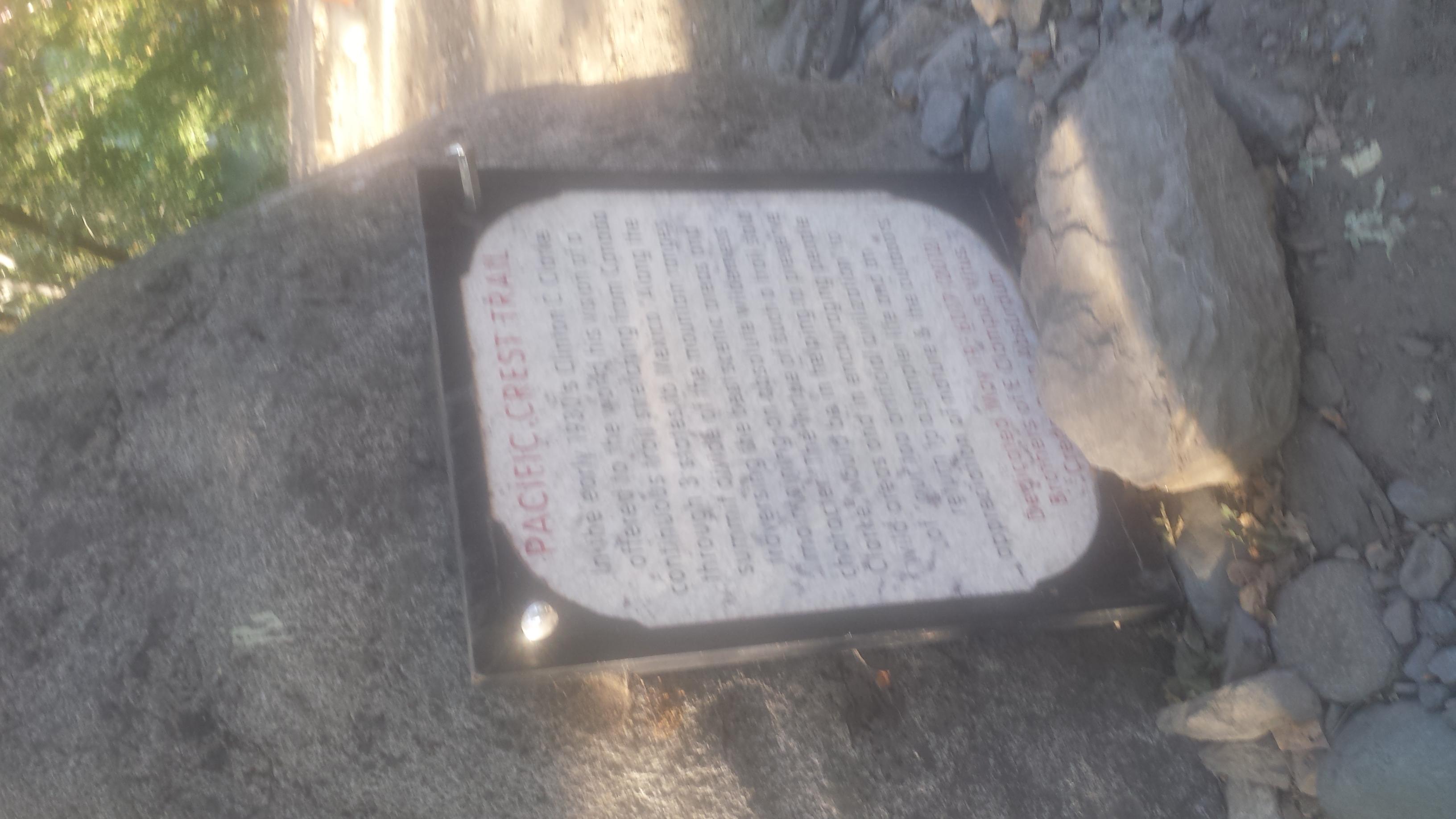 Belden plaque