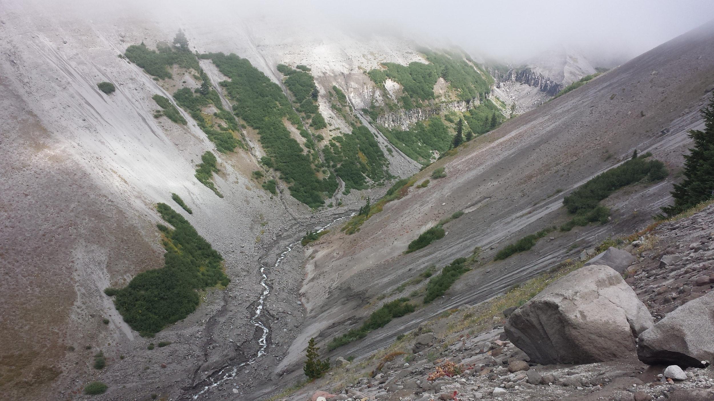 zigzag river