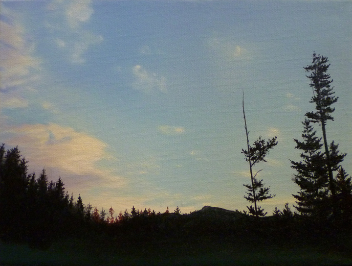 Dawn/ 2012/ oil on cavas/ 9 x 12 inches