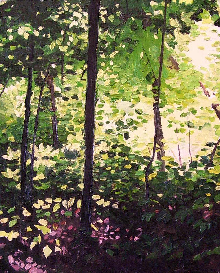 The Spot/ 2004/ oil on panel/ 11 x 9 inches