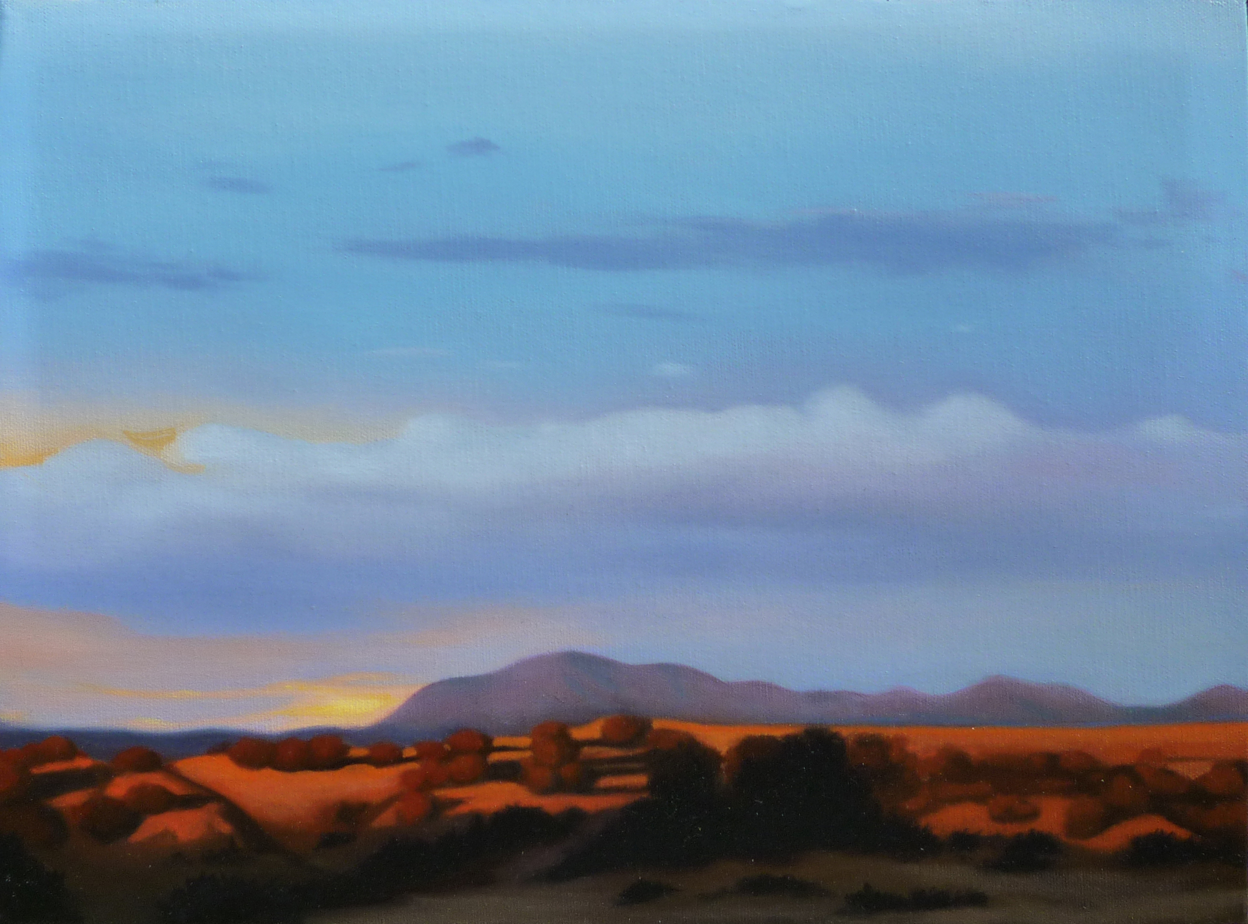 Red Dawn/ 2011/ oil on canvas/ 11 x 14 inches