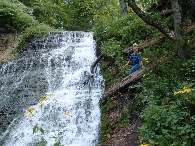 climbing the falls.jpg