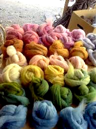 Natural Wool Dyeing with Local Plants