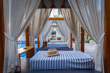 Cabanas await
