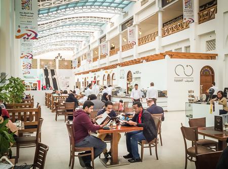 Naseef restaurant - fabulous breakfasts in the souq