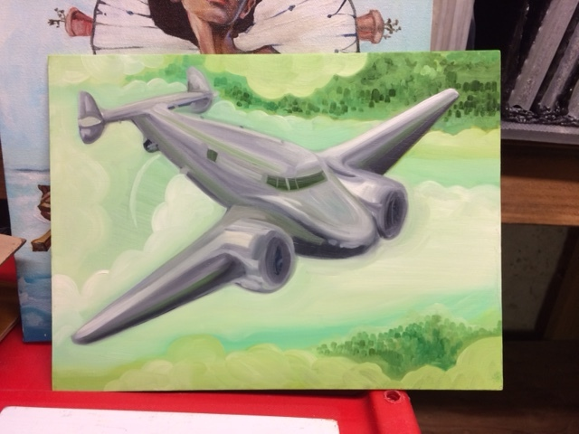 Airplane 8 x 10 ($70 + $20S&H)