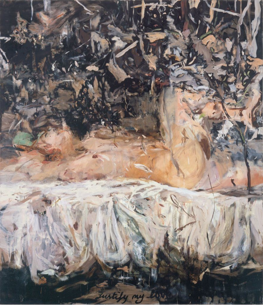 Justify My Love, Cecily Brown, 2004