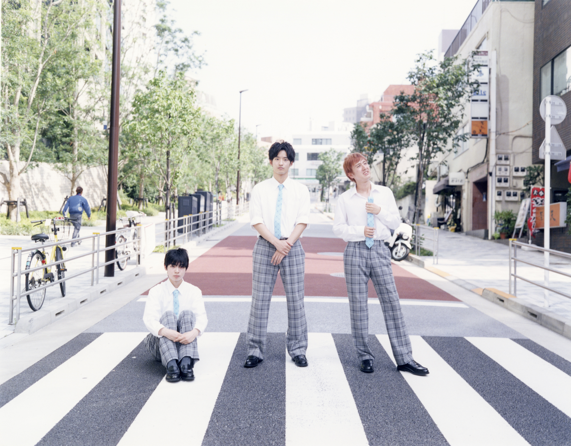 """「青春高校3年C組」""""PLANNERS"""" アー写  QJ クイックジャパン139号"""