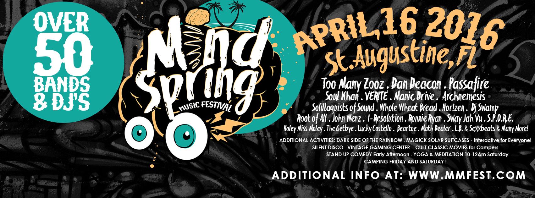 Mindspring Music Festival in St. Augustine with Holey Miss Moley & I-Resolution