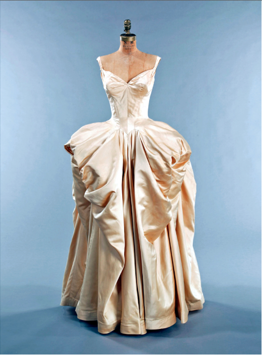 Charles James Wedding Dress. Photo courtesy of www.TheHouseofRetro.com