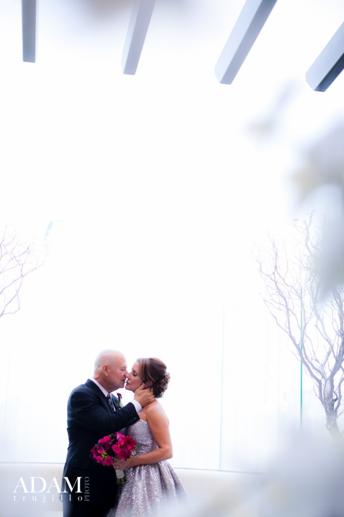 When the fountains go off, they cover everything in a hazy mist! So romantic and ethereal!