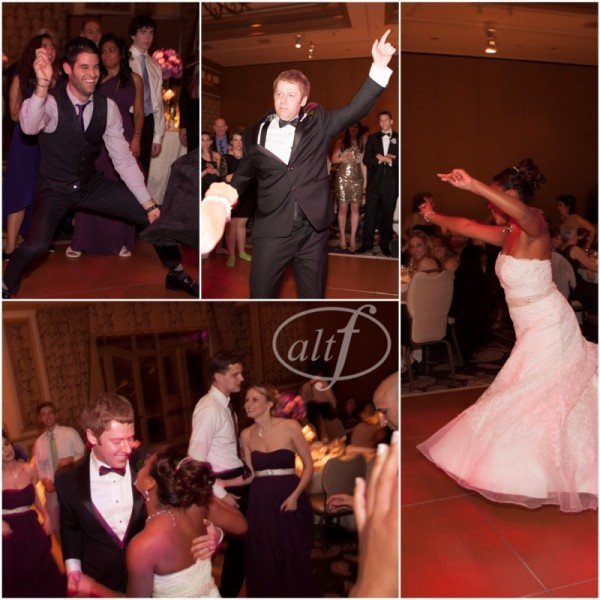 You know that the wedding is a huge hit when everyone is out on the dancefloor!