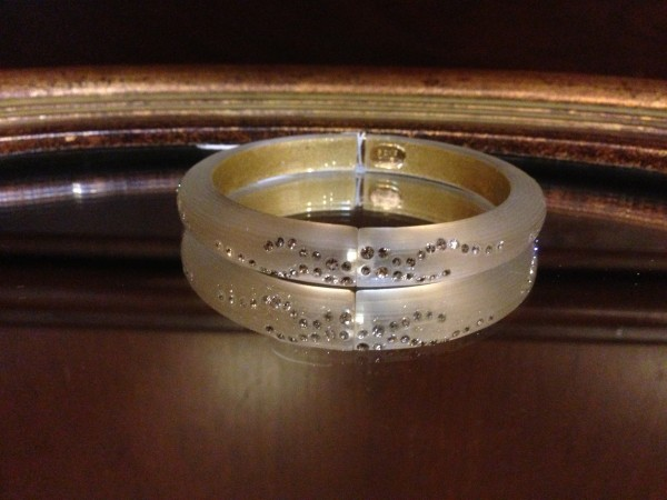 This gorgeous Alexis Bittar bracelet will forever remind me of Marci & Mike.