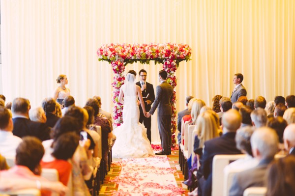 Wedding Ceremony at Mandarin Oriental Las Vegas. Photo courtesy of   www.RonDillonPhotography.com.