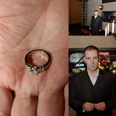 Bill Maxwell spent weeks planning his surprise proposal to Heather.