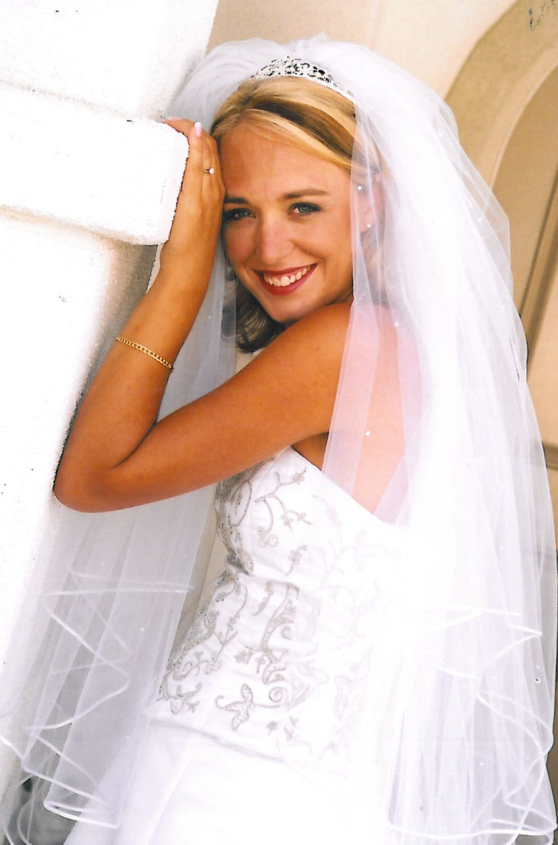 Jillian Peterson Dukes - Bridal portrait in Southern California.