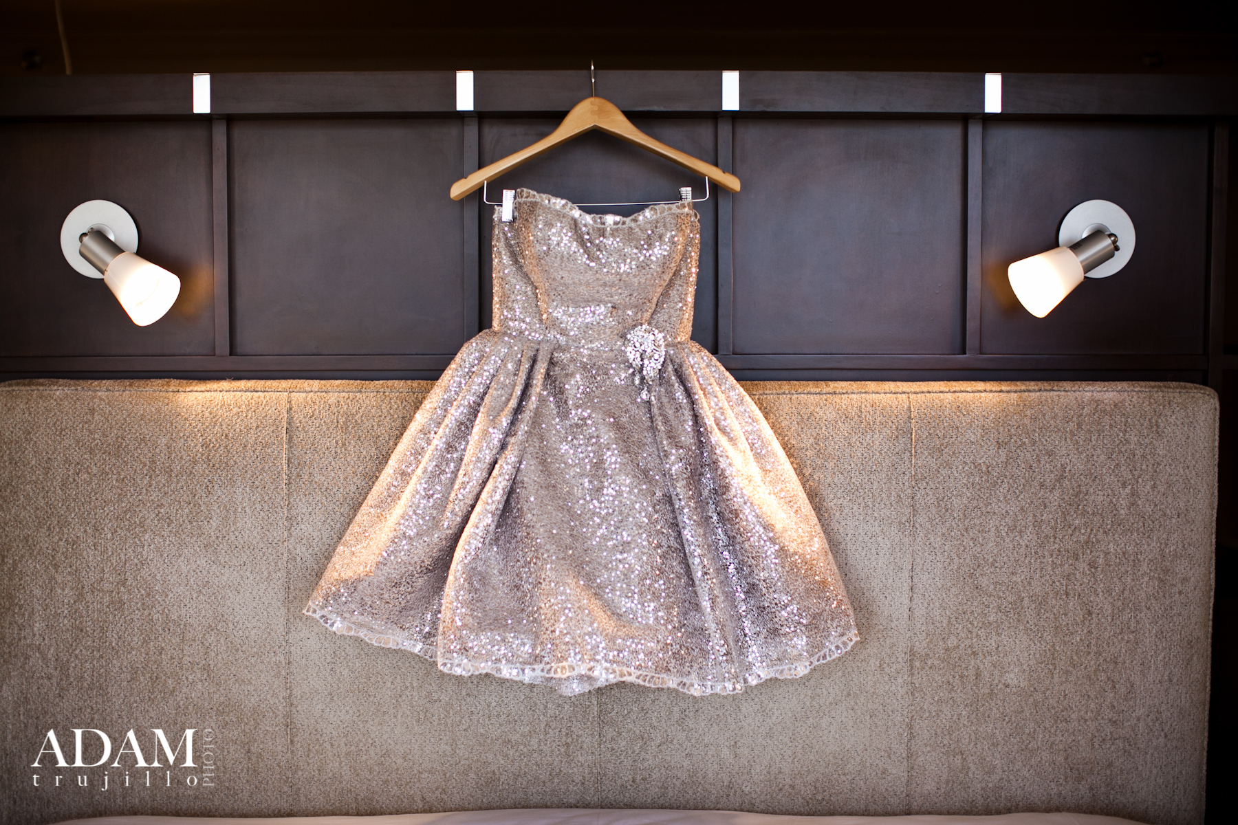 What a dress! Custom made, one of kind…And perfect for Margaret!