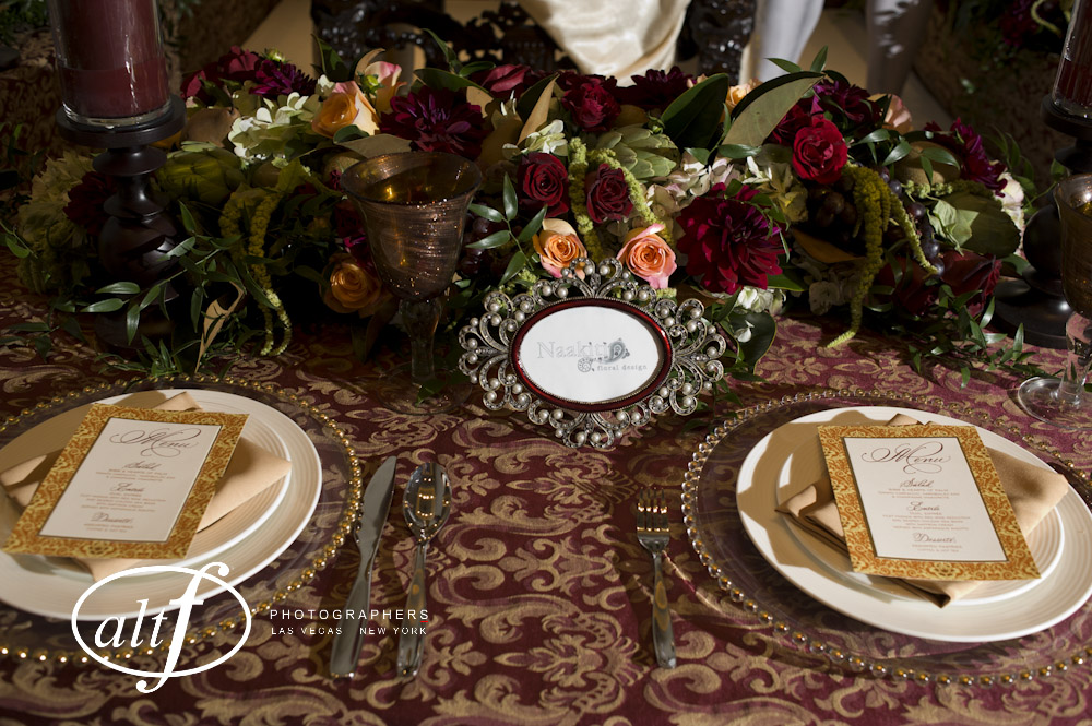 The table top was decadent, elegant, and rich. Thank you to Paper & Home for the beautiful work!
