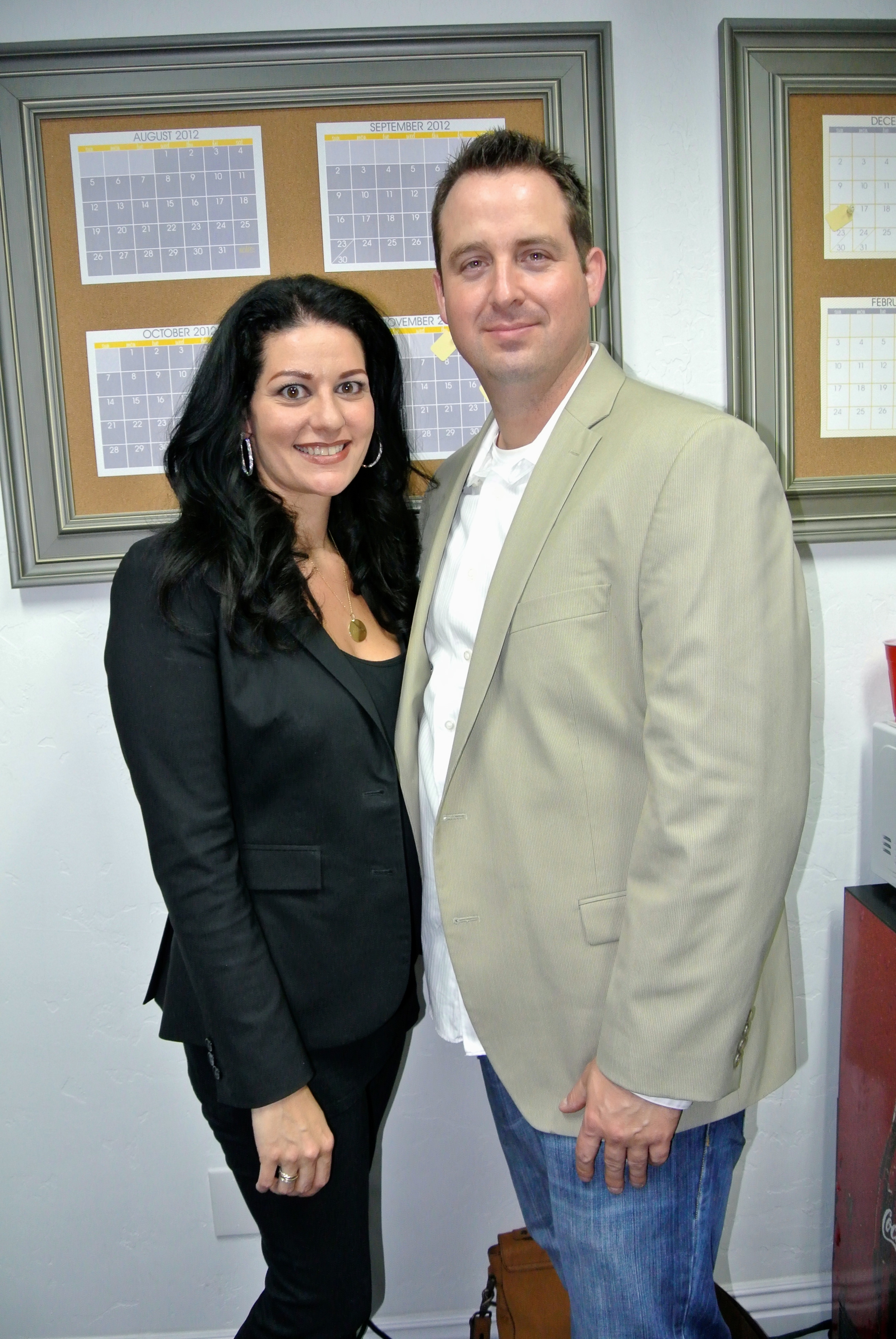 With Brian Derck, founder of Brian Derck Marketing and Design