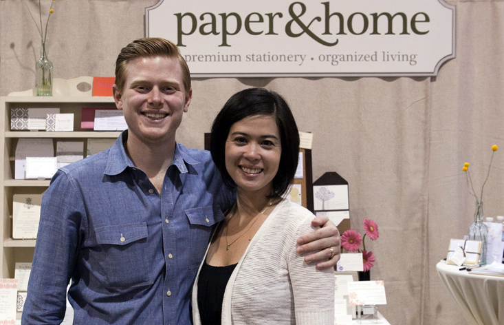 Brooke & Michael Coxen ~ Owners of Paper and Home.