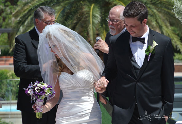 Rebecca Coles wed Andrew Gullixson ~ May 20, 2012   Wedding at The M Resort