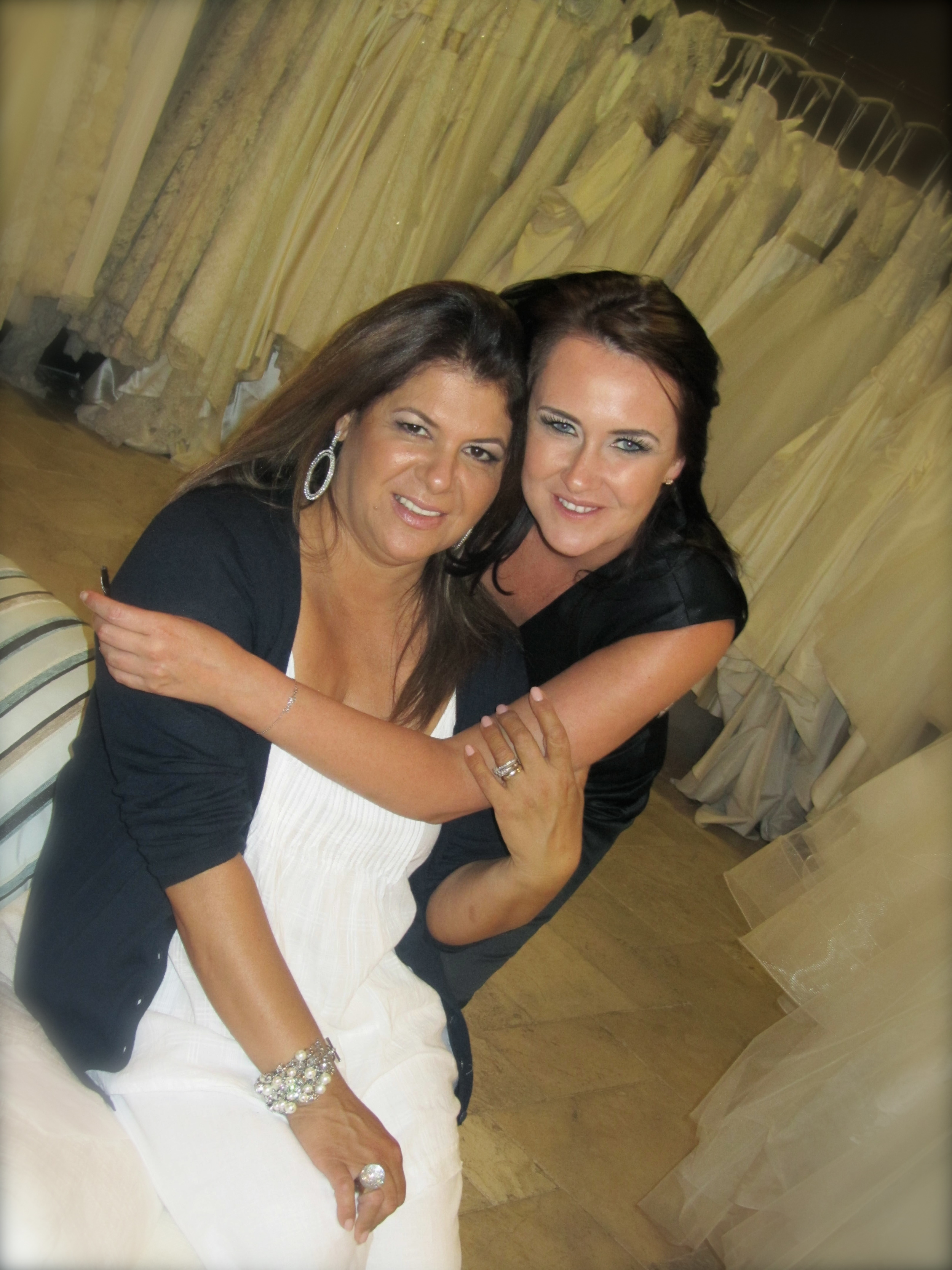 The lovelies of Couture Bride Las Vegas ~ Annette and Dawn!